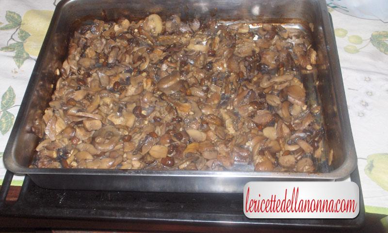 Funghi al forno for Cucinare funghi